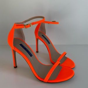 Stuart Weitzman Nudistsong in Orange Fluorescent